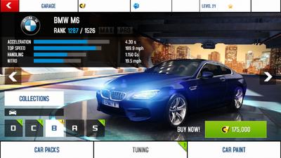 BMW M6 stock + price