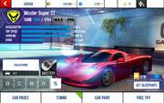 A8 Super GT stats (MP MPH)