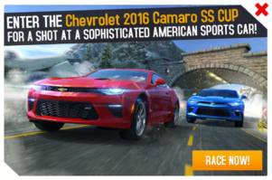 Camaro Cup promo