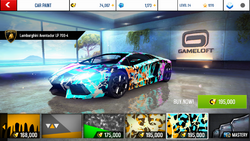 Lamborghini Aventador LP 700-4 Decal 31
