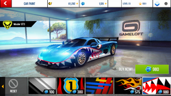 Mosler GT3 Decal 5