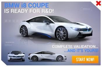 BMW i8 R&D Promo