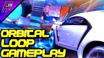 ORBITAL LOOP SPACE TRACK GAMEPLAY in Asphalt 8!