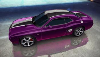 20151112 SRT 2013 Dodge Challenger SRT8 decal