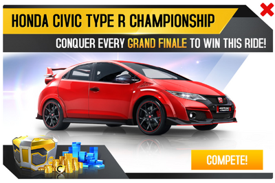 Civic Type R Championship Promo