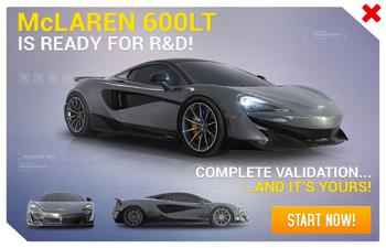 McLaren 600LT R&D Promo