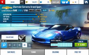 A8 Corvette GS stats (MPTK KMH v4.1)