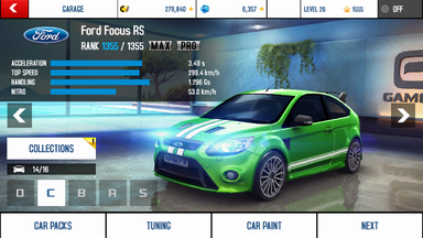 A8 Focus stats (MP)