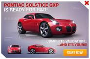 Pontiac Solstice GXP R&D Promo