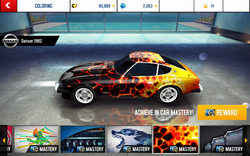 280Z Decal Molten Core
