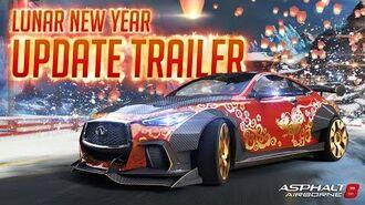 Asphalt 8 Lunar New Year Update Trailer!!