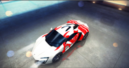 W Motors Lykan HyperSport decal