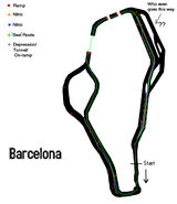 Barcelona detailed map