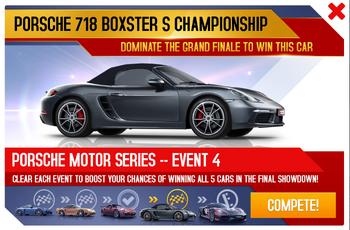718 Boxster S Championship Promo
