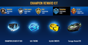 Savage Rivale GTR Champion League Rewards