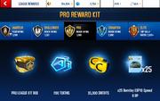 EXP10 S6 Pro League Rewards