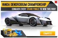 Vanda Electrics Dendrobium Championship Promo