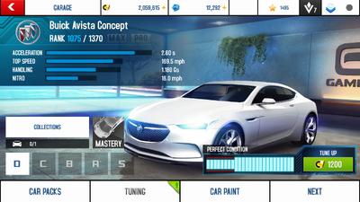 A8A Buick Avista Concept stock