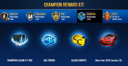 Chevrolet 2016 Camaro SS Champion League Rewards
