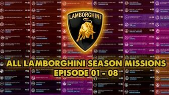 All Lamborghini Season Pass Missions Asphalt 9