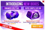 Split Shuffle Box Promo