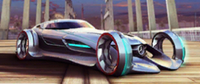 A8 Mercedes-Benz Silver Lightning in-game art