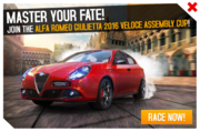 Giulietta Assembly Cup Promo