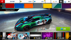 Hennessey Venom GT Decal 11