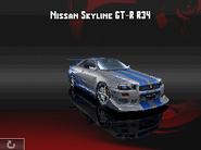 Urban GT Skyline GTR R34 Body 2
