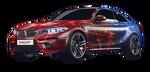 BMW M2 Grunge icon as
