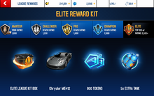 Chrysler Elite League Rewards