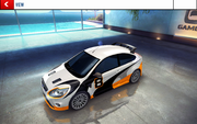 Ford Focus RS decal