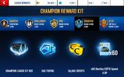 EXP10 S6 Champion League Rewards