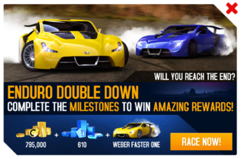 Faster One EDD promo