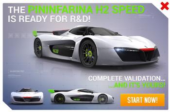 Pininfarina H2 Speed R&D Promo