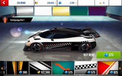 Koenigsegg One-1 Decal 11