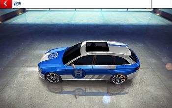 20160208 Audi RS 4 Avant decal
