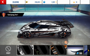 Koenigsegg One-1 Decal 1