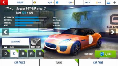Jaguar F-TYPE Project 7 stock + price