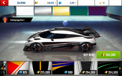Koenigsegg One-1 Decal 15