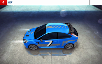 20160215 Ford Focus RS decal 2