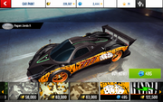 Zonda R Decal 11