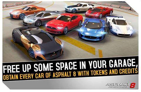 asphalt 8 airborne car list