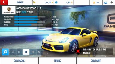 A8A Porsche Cayman GT4 stock