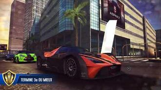 Asphalt 8 KTM X-Bow GT4 Multiplayer test 1 (rank 1002)
