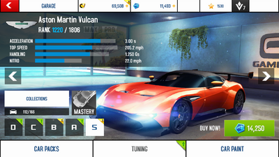 A8A Aston Martin Vulcan price