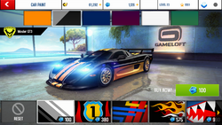Mosler GT3 Decal 1