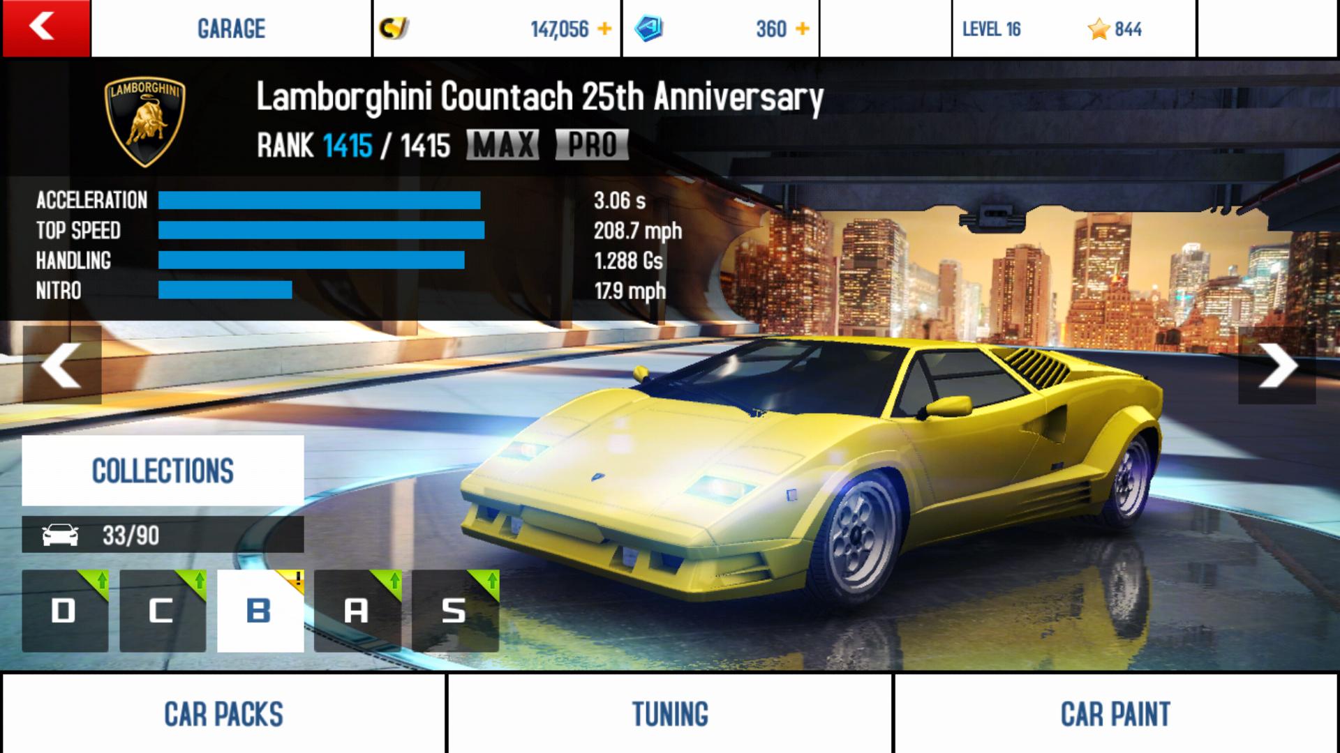Lamborghini Countach 25th Anniversary Asphalt Wiki Fandom