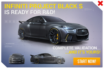 Infiniti Project Black S R&D Promo