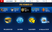 570S Pro League Rewards